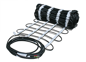 ProLine snow melting heat cable in mat
