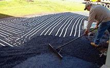 Retrofitting an asphalt driveway with radiant heat.