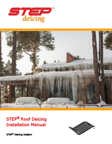 ProLine low-voltage roof heating systems installation manual