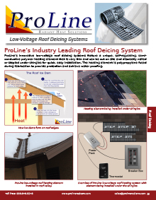 Low-voltage roof deicing system technical guide