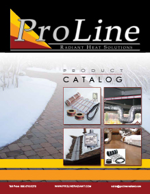 ProLine radiant heat product and services catalog