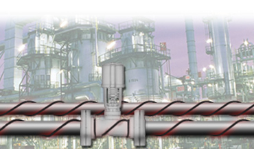 Pipe tracing for industrial applications