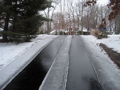 Proline Radiant Heat Snow Melting System Photos